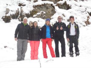 Ende eines tollen Skitouren-Tages
