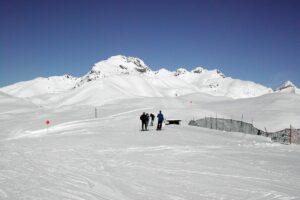 Im Winter bin ich 5 Minuten vom Skilift entfernt.