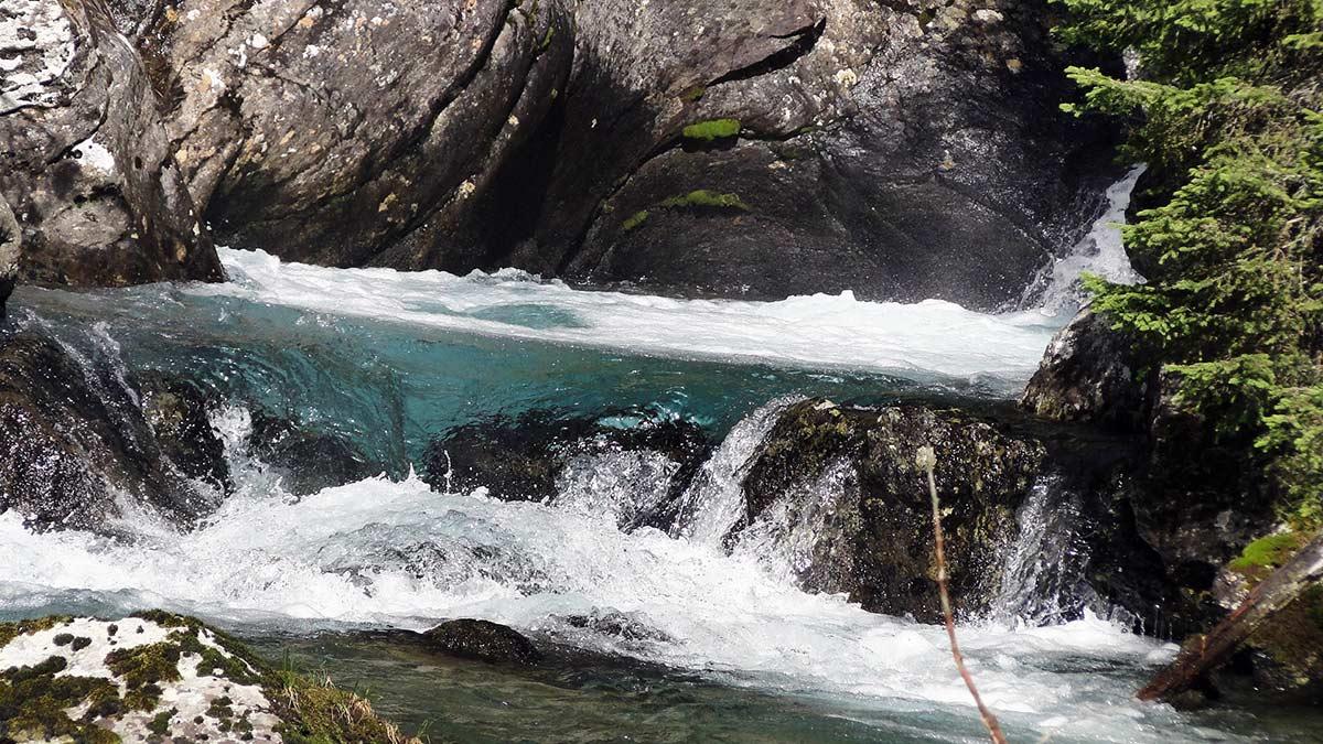 Wilde Wasser im Debanttal.