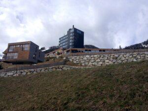 Blick auf das Gradonna Mountain Resort.