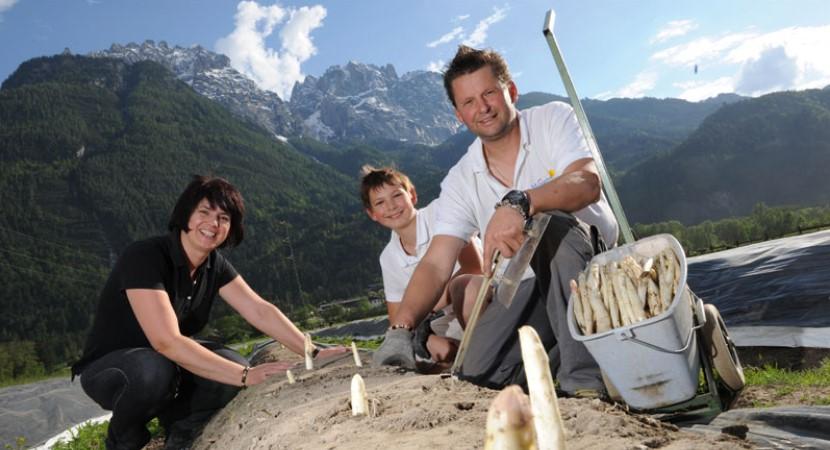 Das Dreamteam aus Osttirol: Elisabeth, Lukas und Josef Kaplenig.