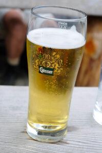 Das Bier haben wir uns verdient