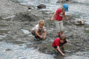 Goldwaschen im Wonky-Tonky-Fluss - war mein persönliches Highlight