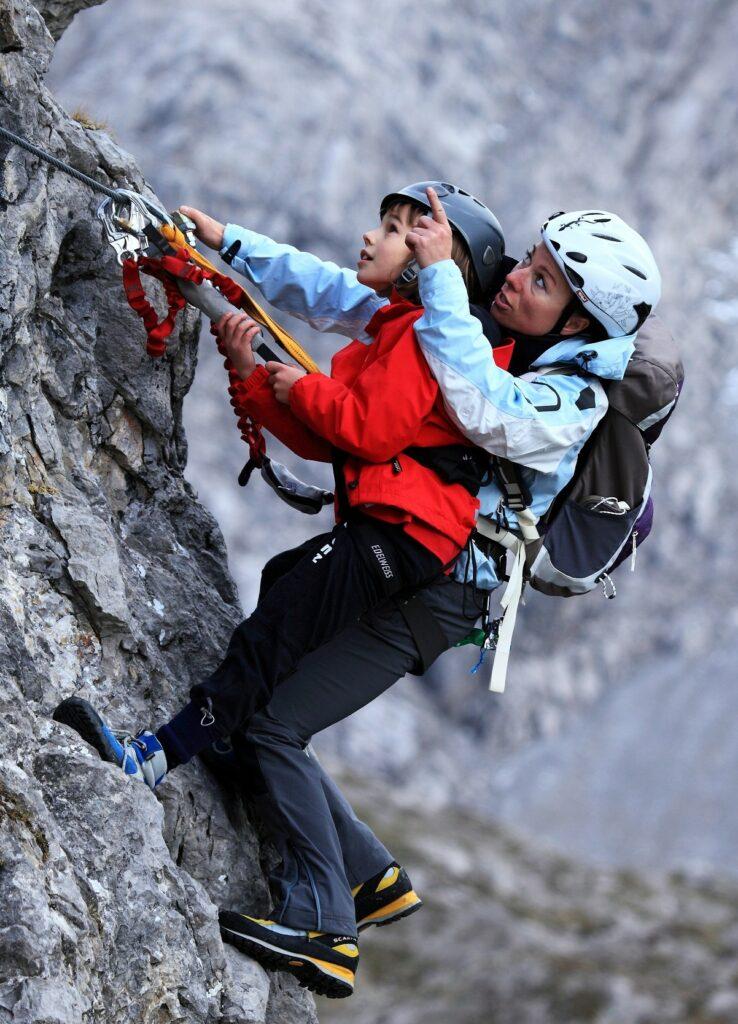 In Osttirol gibt es viele interessante Klettermöglichkeiten!