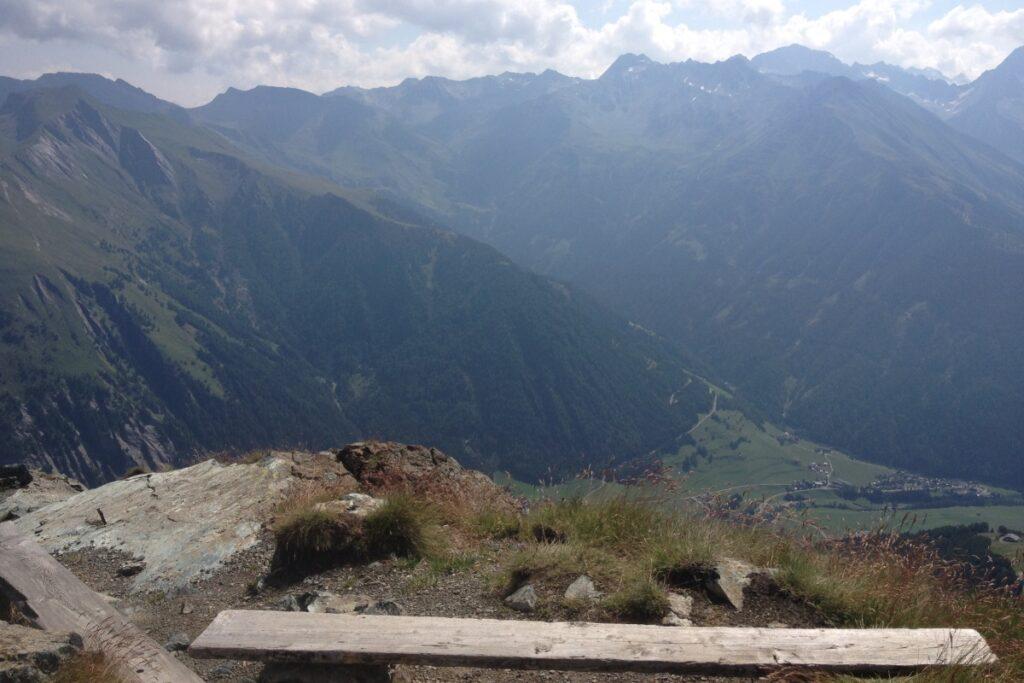 Ausblick von der Blauspitze
