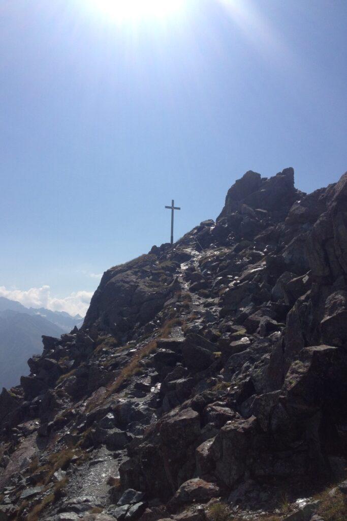Gleich sind wir am Gipfel!!!