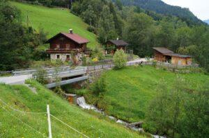 Beschaulicher Start zum Beginn des Canyoning Abenteuers in Schlaiten in Osttirol.