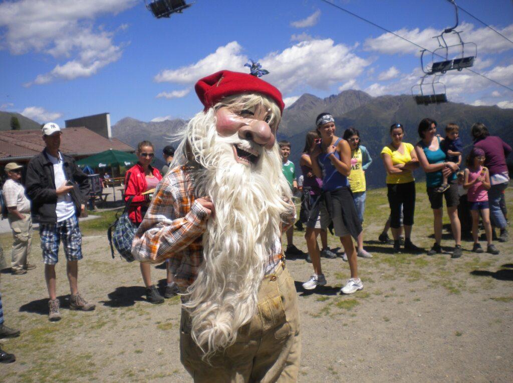 Willi Wichtel ist auch auf dem Familienfest am Thurntaler mit dabei