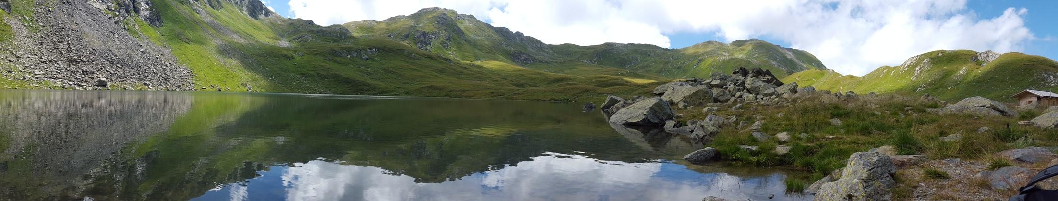 Erholungspause am Obstansersee - das beste Landschaftspanorama