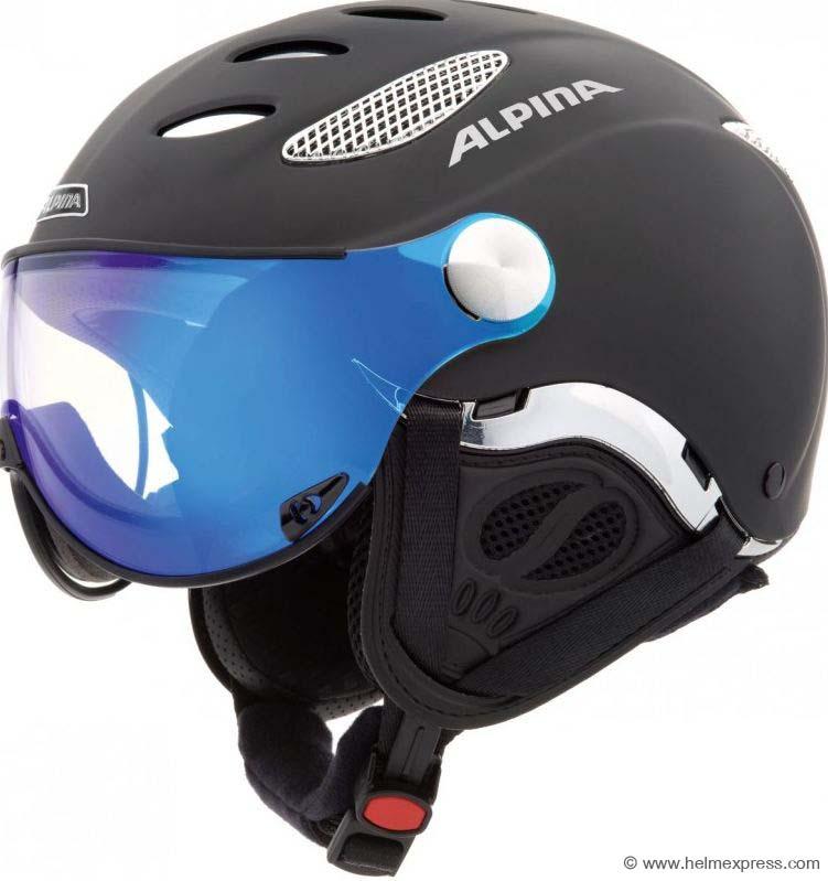 Skihelm mit Hardshell-Technologie von Alpina