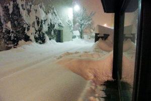 Endlich Schnee.