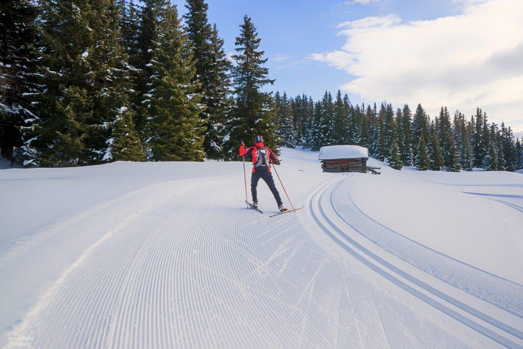Osttirol ist ein Paradies zum Langlaufen. (c) Horst von Bohlen