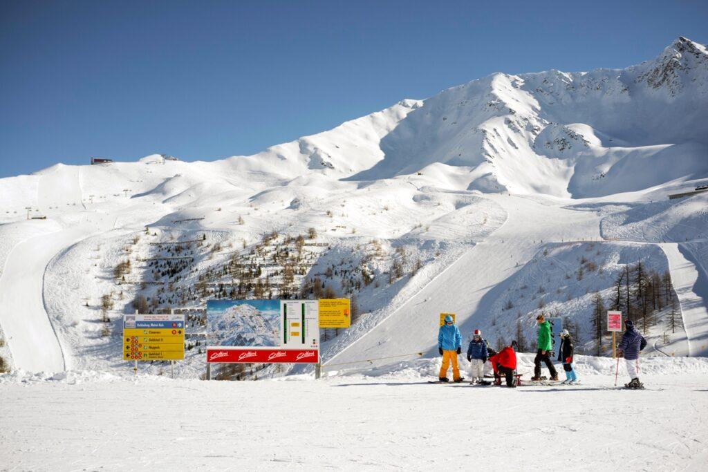 Familienfreundliches Skifahren im Skigebiet Matrei i. O.