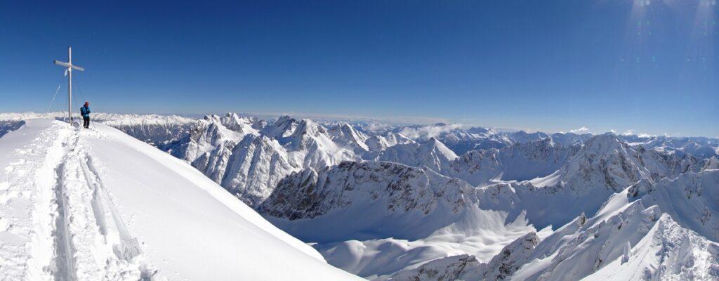 266 Dreitausender und Schneesicherheit. So sieht ein echter Winter aus.