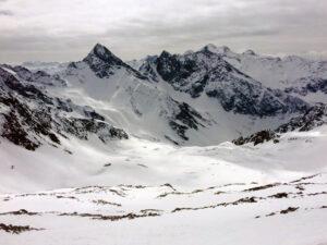 Bald waren wir dann am Gipfel, einige Minuten sogar alleine.