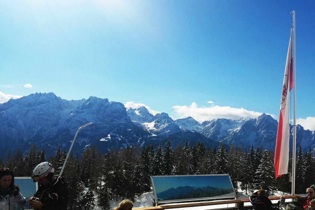 So kann ein Skitag ausklingen