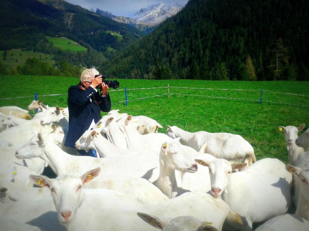 Inge Prader: Die Idee, in Osttirol zu fotografieren, gibt es schon sehr lange