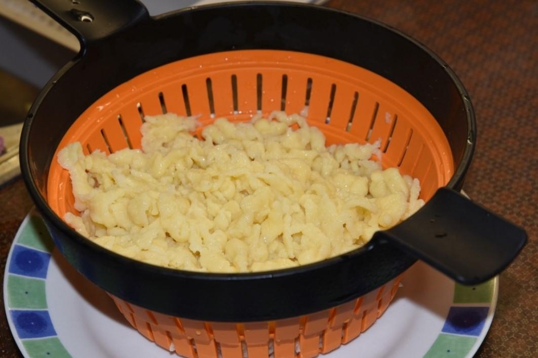 Käsespätzle: Zubereitung