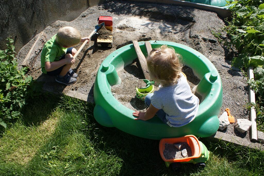 Urlaub am Bauernhof - Spielplatz