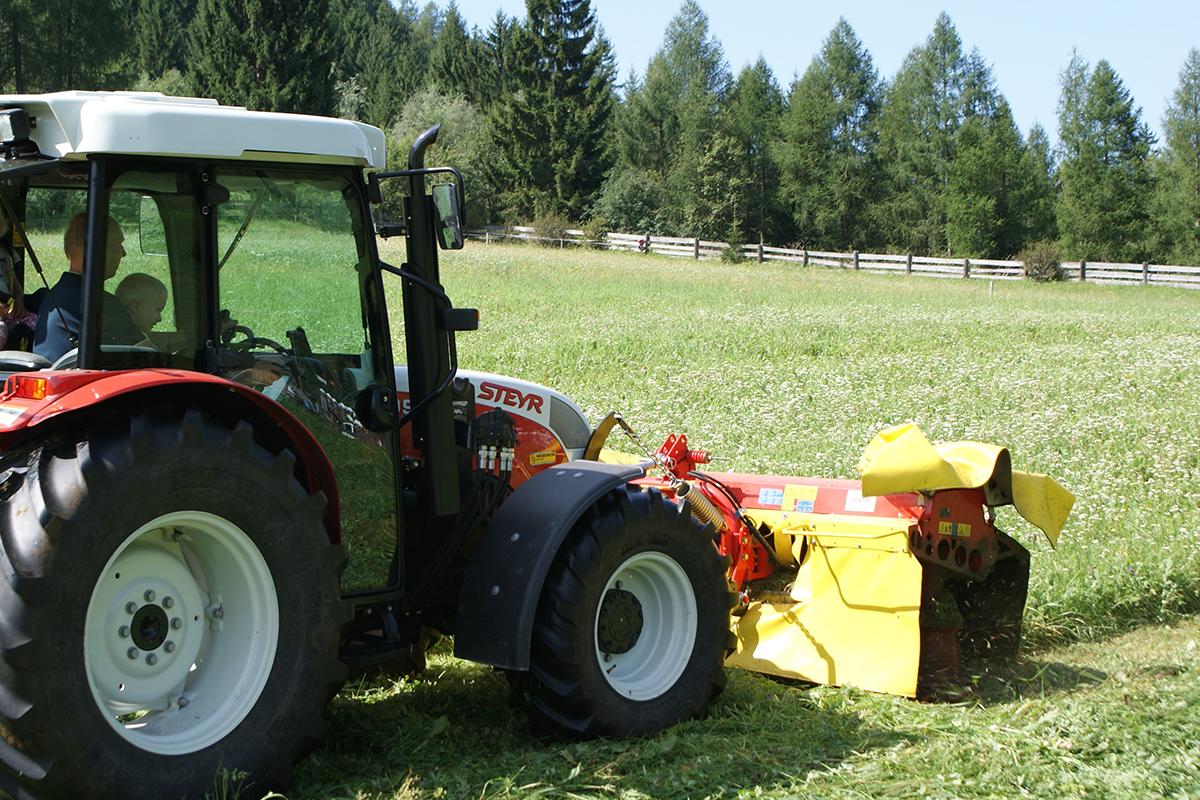 Urlaub am Bauernhof - Traktor fahren
