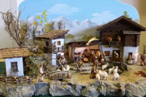 Krippe aufstellen Osttirol