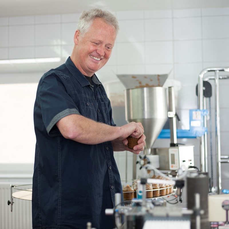 Bernd Troger in seinem Element.