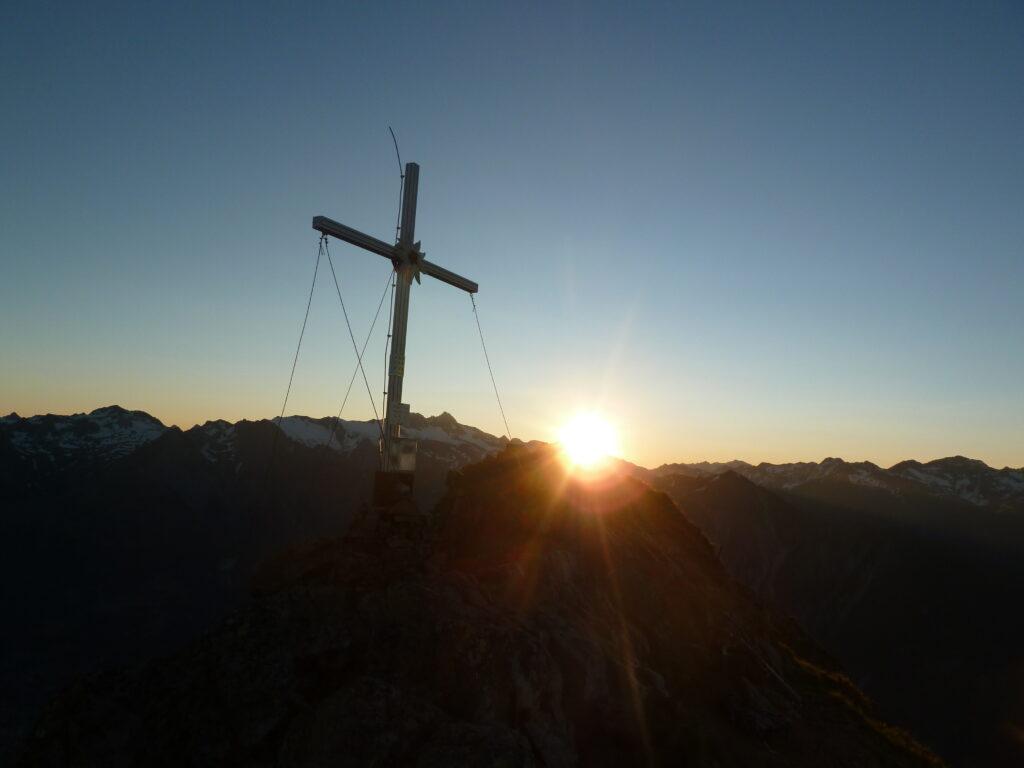 Sonnenaufgang am gr. Zunig
