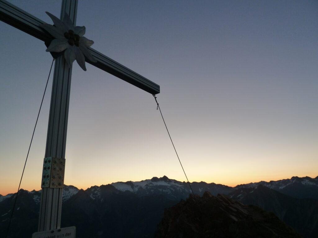 Sonneaufgang am gr. Zunig 2019