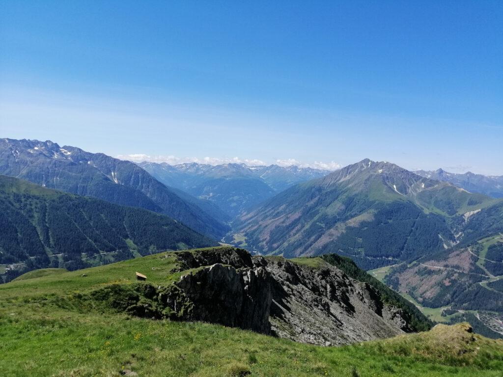 Blick auf den Kalser Talboden.