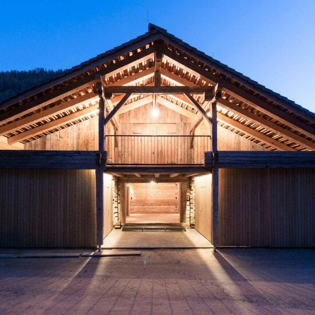 Traditionelle Bausubstanz, sorgfältige Restaurierung und moderne Architektur...