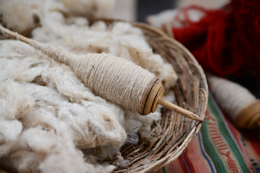 Grenerhof Hopfgarten Wolle spinnen