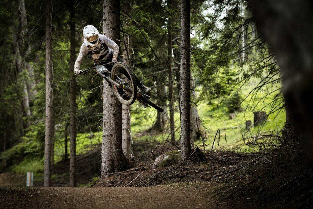 Wenn Gabriel die Trails in Lienz rockt, sieht das so aus... Foto: Hannes Berger
