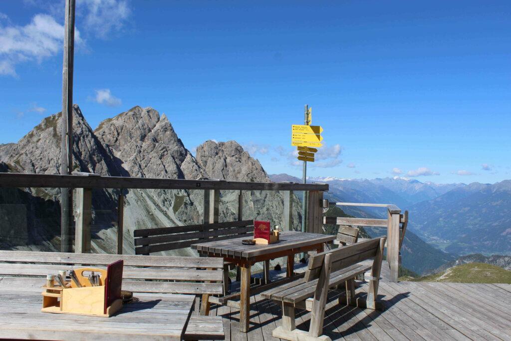 Sonnenterasse - Kalrsbader Hütte