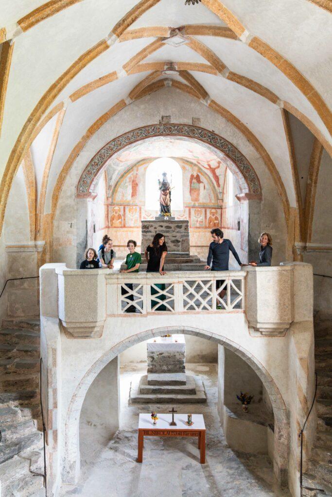 Im Inneren der Kirche (c) Ramona Waldner